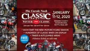 Carole Nash Classic Bike Guide Winter Classic Logo